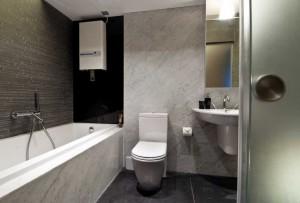 tile marble toilet