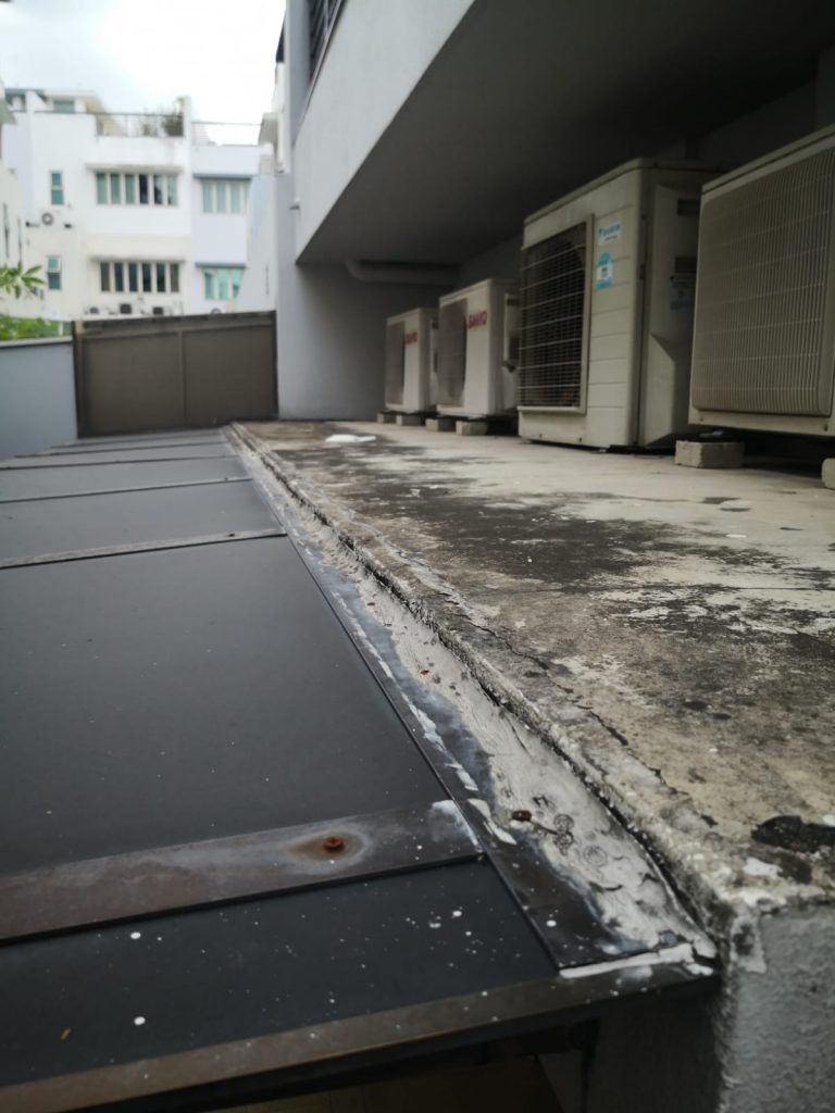 Canopy Roof Repair Contractor Singapore